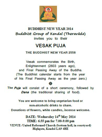 Buddhist New Year 2014