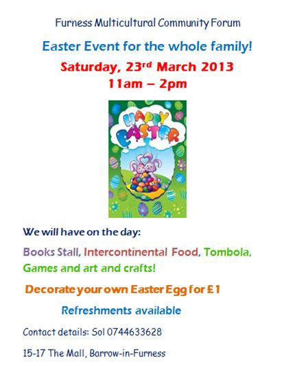 Easter Event Barrow 03.13
