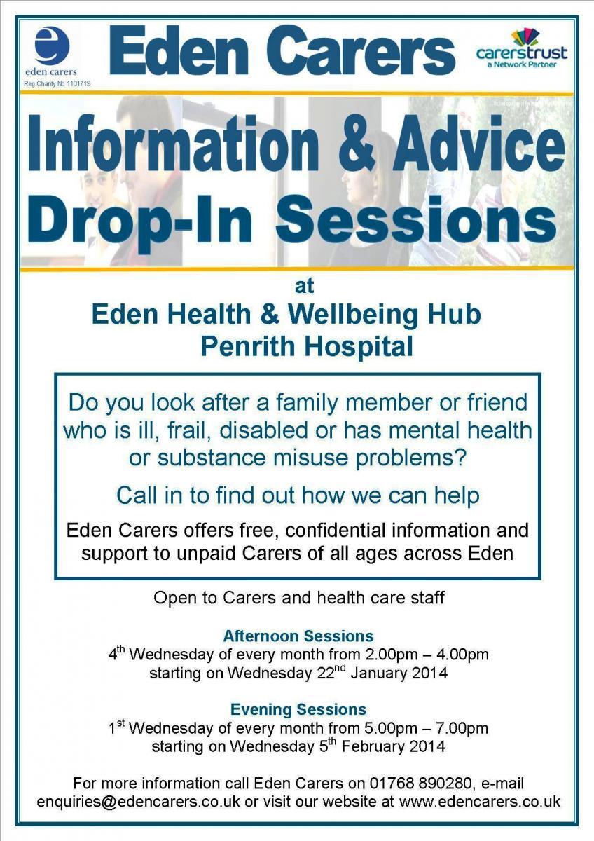 Eden Carers Info Advice 01.14