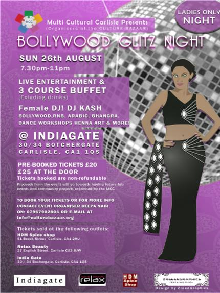 Bollywood Glitz Night 08.12