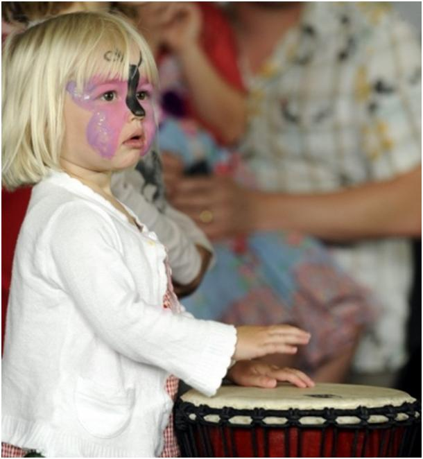 Carlisle Culture Bazaar Girl with Drums