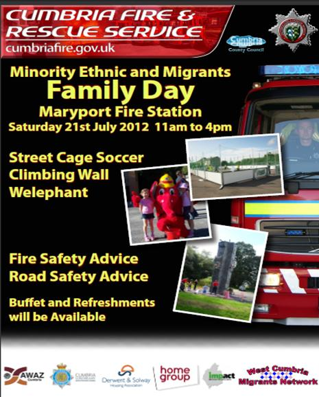 Minority Ethnic & Migrants Family Day July 2012